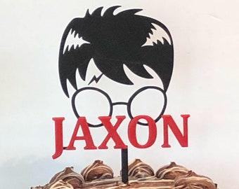 Custom Harry Potter Silhouette Cake Topper