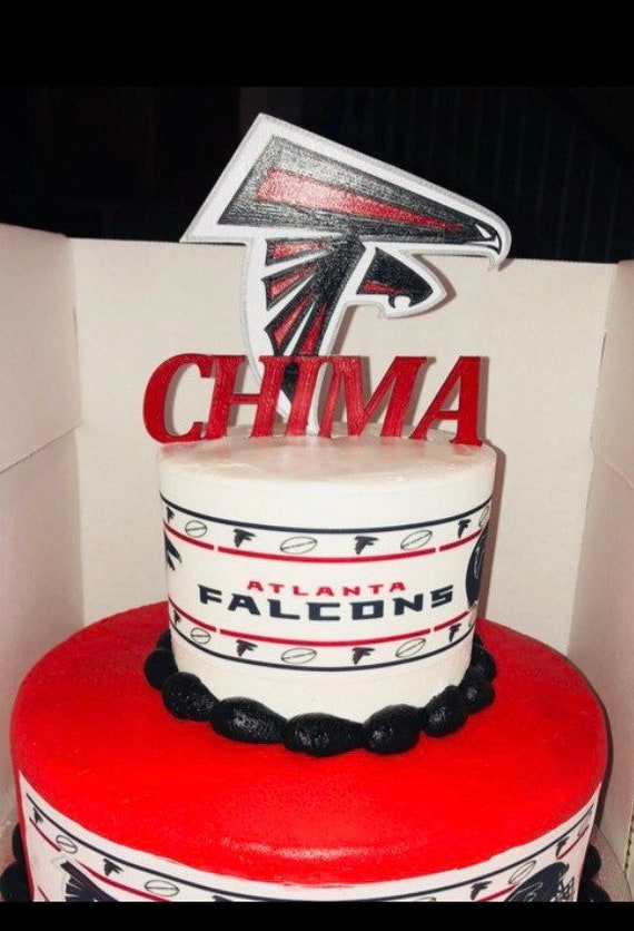 Custom Atlanta Falcons Cake Topper