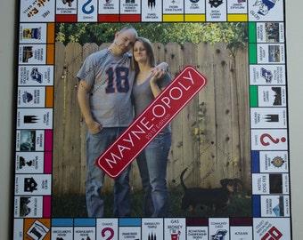 Custom Monopoly Game