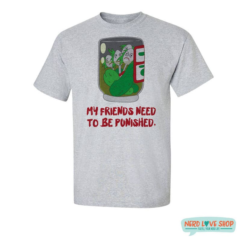 My Friends Need to Be Punished  Lilo T-Shirt  Lilo Quote  image 0