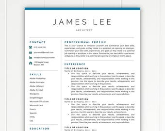 professional resume template resume template instant download free resume template resumes cover - Free Resume Templates For Mac