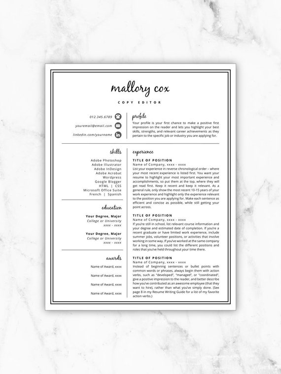Resume Icons Resume Design Resume Template Word Resume Cover Letter Resume Template Modern Creative Resume Free Resume Template