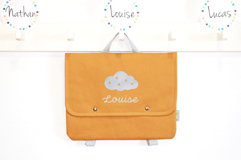 Nursery Backpack Mixed Cloud Personalization image 0