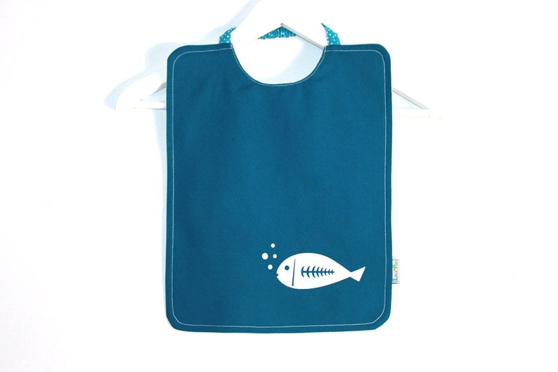 Customizable elasticated napkin  Kindergarten or home canteen image 0