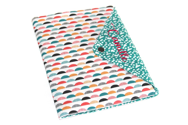 Protects Personalized Health Notebook Pattern Waves image 0