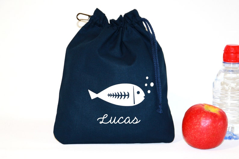Taste Pouch  Personalized Doudou Bag First name  100% Plain image 0