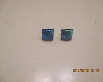 Resin starburst post earrings