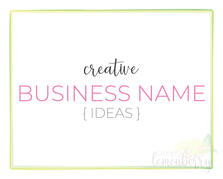 custom business name ideas custom etsy shop name ideas | etsy