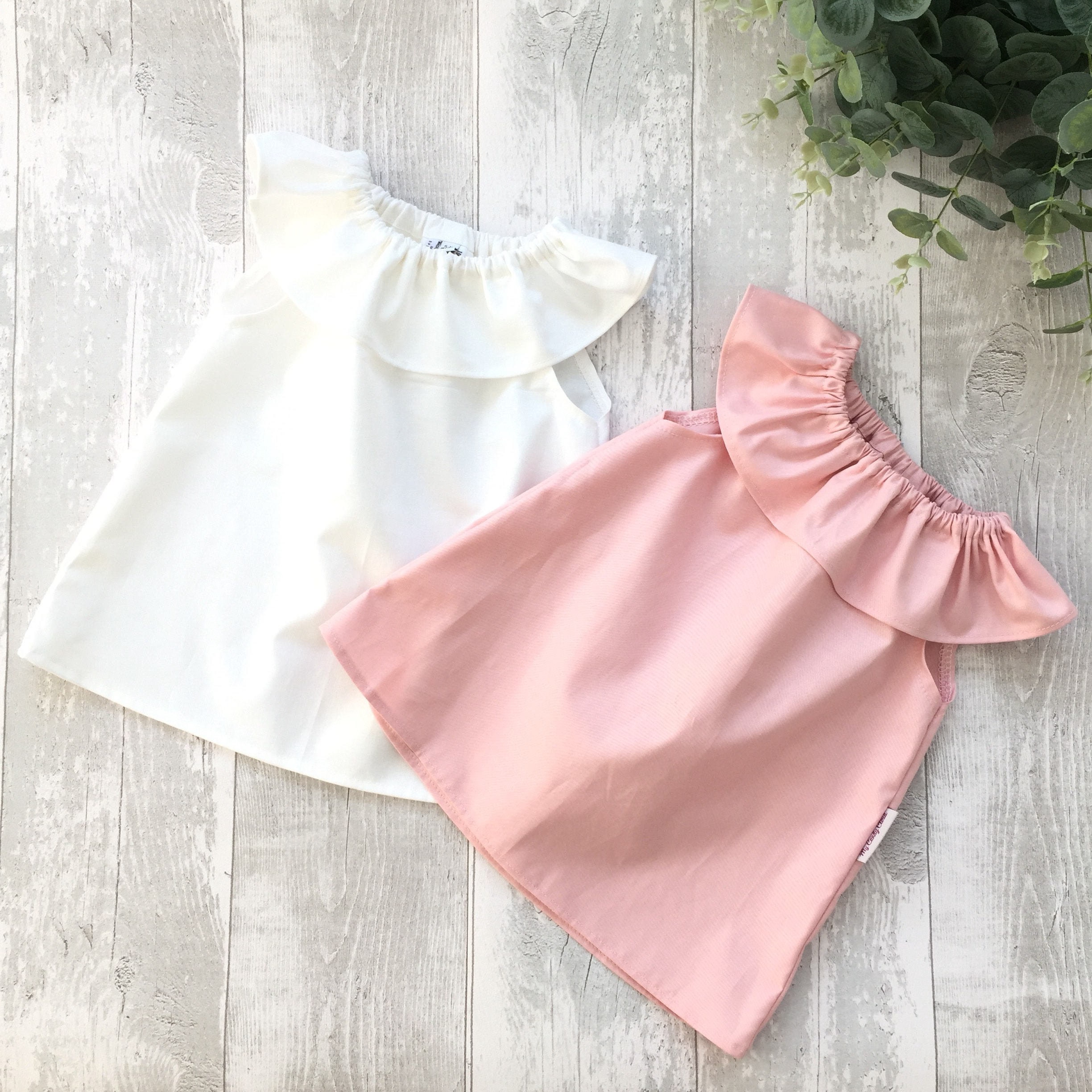 af5dfaaddc662 Ruffle collar summer top Girl baby toddler Easter lace