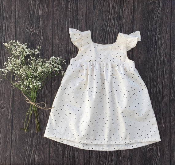 369ec12c0 Bohemian dress for baby girl toddler Boho outfit 1st