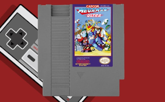 Mega Man Ultra - NES Nintendo Cart