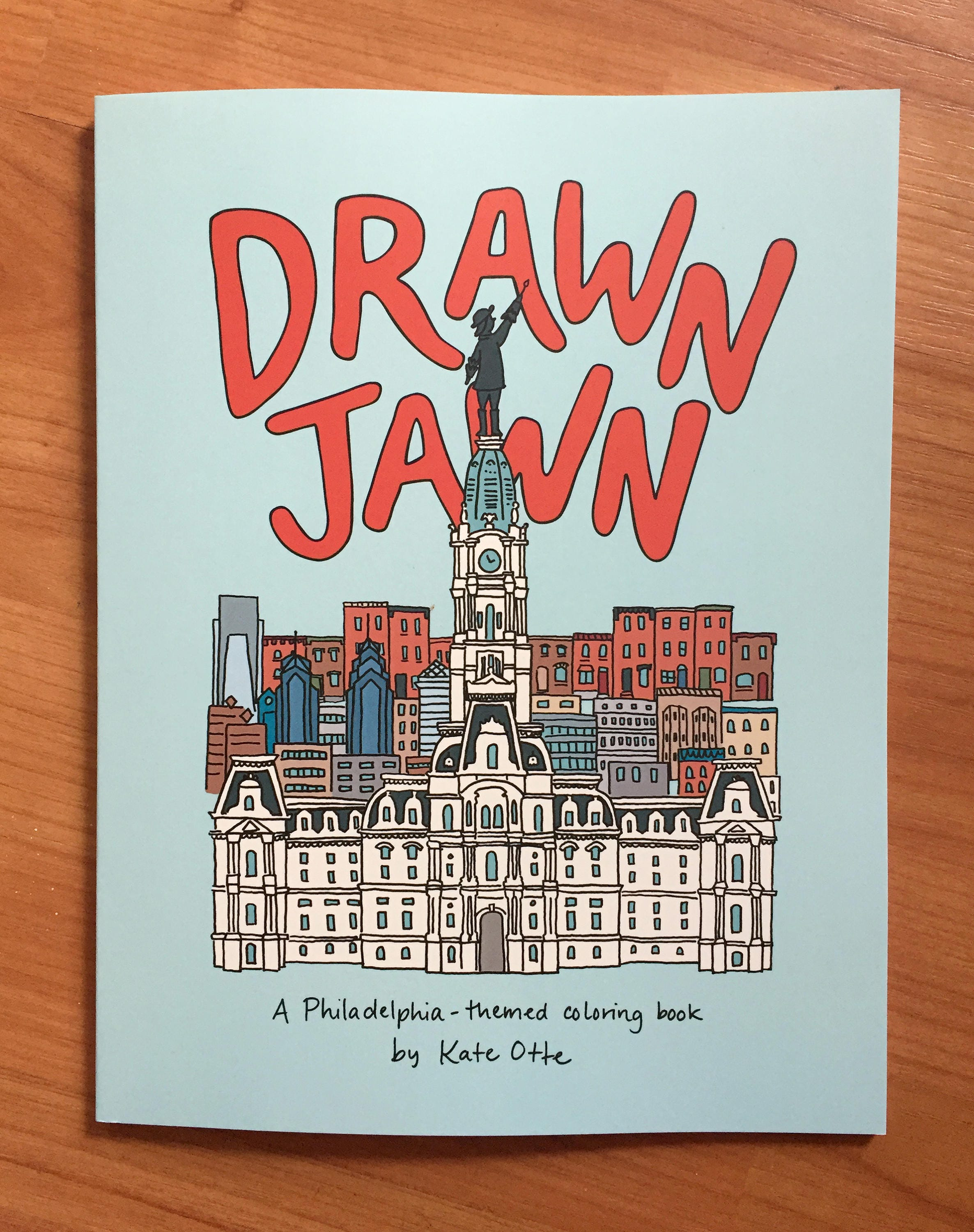 Drawn Jawn: A Philadelphia-themed coloring book | Etsy