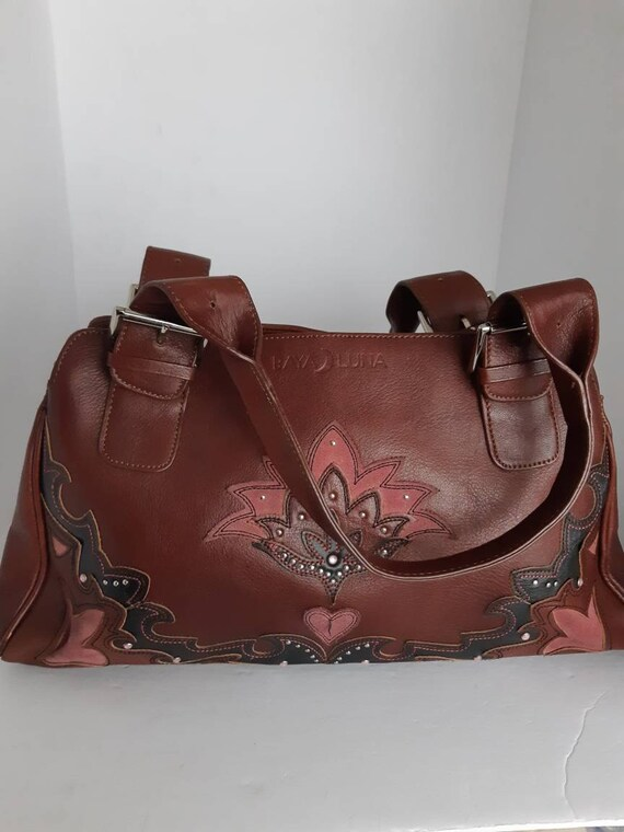Vintage Western Style Top Handle Bag