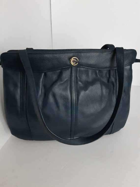 Vintage Leather Bag By Cornell