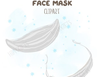 Face mask cliparts,Medical masks  M002