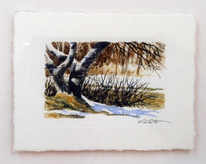 Original watercolor (Miniature)