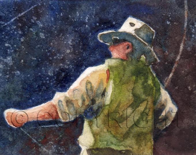 No 44, Greeting Card, watercolor, watercolor