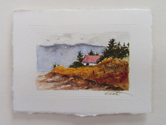 Original watercolor (Miniature)