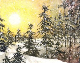 No 22, Greeting Card, watercolor, watercolor