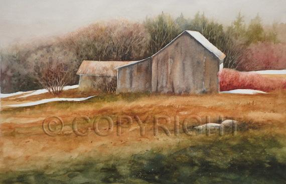 No 57, Greeting Card, watercolor, watercolor