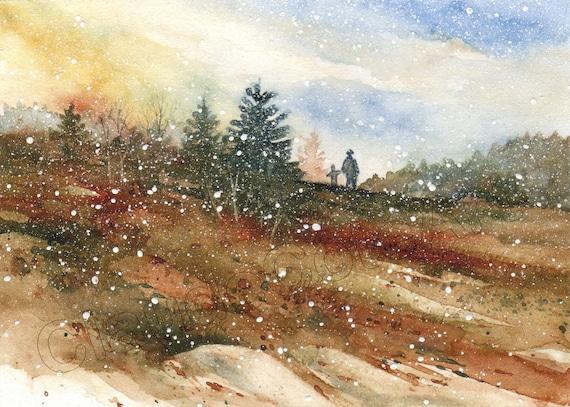 No 7, Première neige