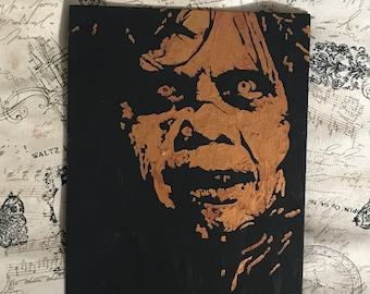 The Exorcist ORIGINAL Painting