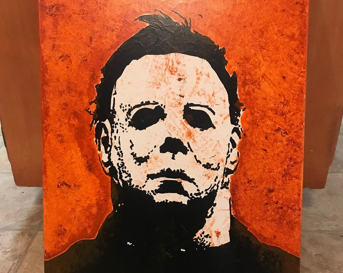 Featured listing image: Michael Myers ORIGINAL Painting