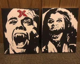 Fright Night ORIGINAL Paintings