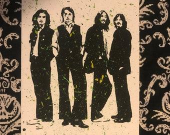 The Beatles ORIGINAL Painting