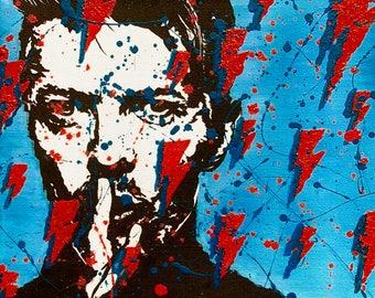 Blue Bowie PRINT
