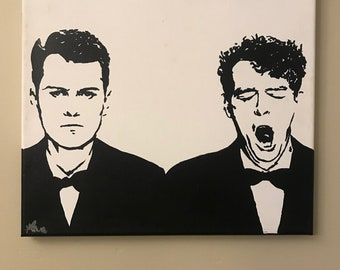 The Pet Shop Boys ORIGINAL Painting