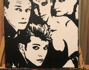 Depeche Mode ORIGINAL Painting