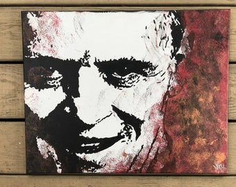 Hannibal Lecter ORIGINAL Painting