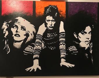 Blondie, Bowie, Prince ORIGINAL Painting
