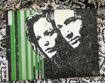 X Files ORIGINAL Painting