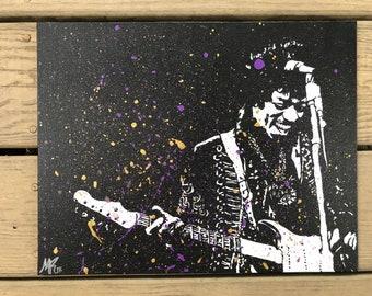 Jimi Hendrix ORIGINAL Painting