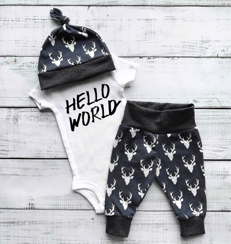 9168ccfe4 Newborn outfit boy newborn clothes boy first outfit for baby