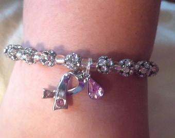 Breast cancer memory bracelet