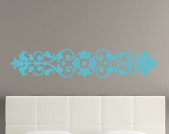 Floral Border Wall Decal