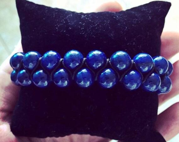 Lapis Lazuli gemstone bracelet (8mm)