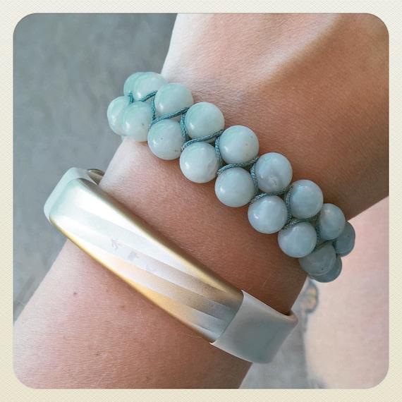 Peruvian Amazonite Gemstone Bracelet