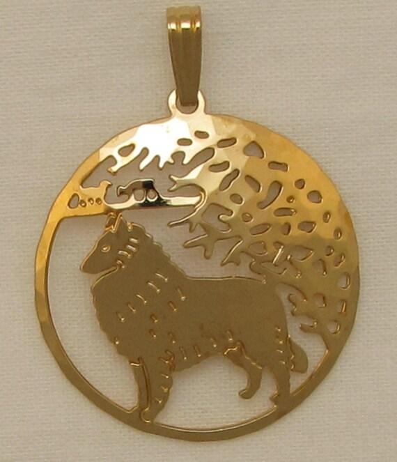 Alaskan Malamute Jewelry Gold Bracelet by Touchstone Dog Designs