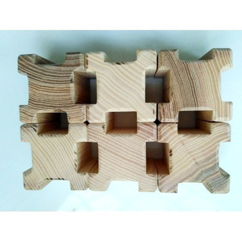 Wooden Blocks Baby Geometric Building Blocks Set Wooden Waldorf Toddler Blocks Wooden Blocks For Kids Wood Block Houses Eco Constructor