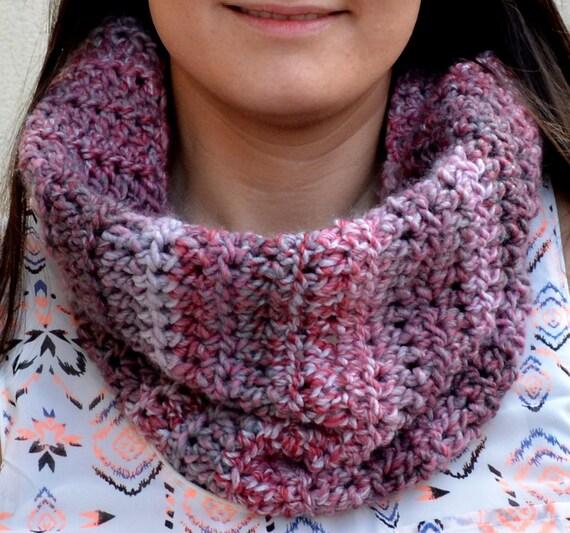 Multi Color Unendlichkeit Schal. Handgemachte Schal.   Etsy