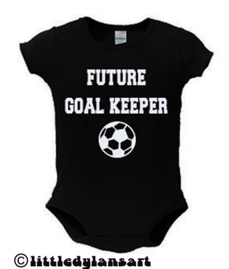 Future Goal Keeper Baby Bodysuit