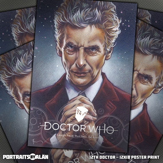 PETER CAPALDI DR WHO  SIGNED  A4  PHOTOGRAPH REPRINT 18
