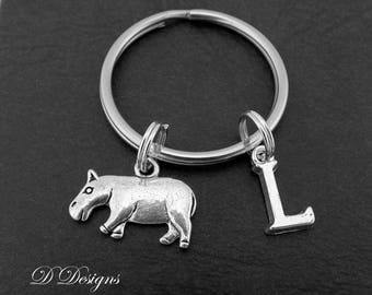 Hippo Keyring Personalised Gifts