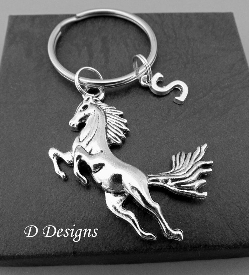 Pony /& Horse Lover Keyring Equestrian Rider Gift Dressage Showjumping Riding
