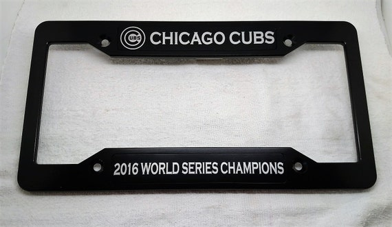 Cubs World Series Champions Billet Aluminum License Plate | Etsy
