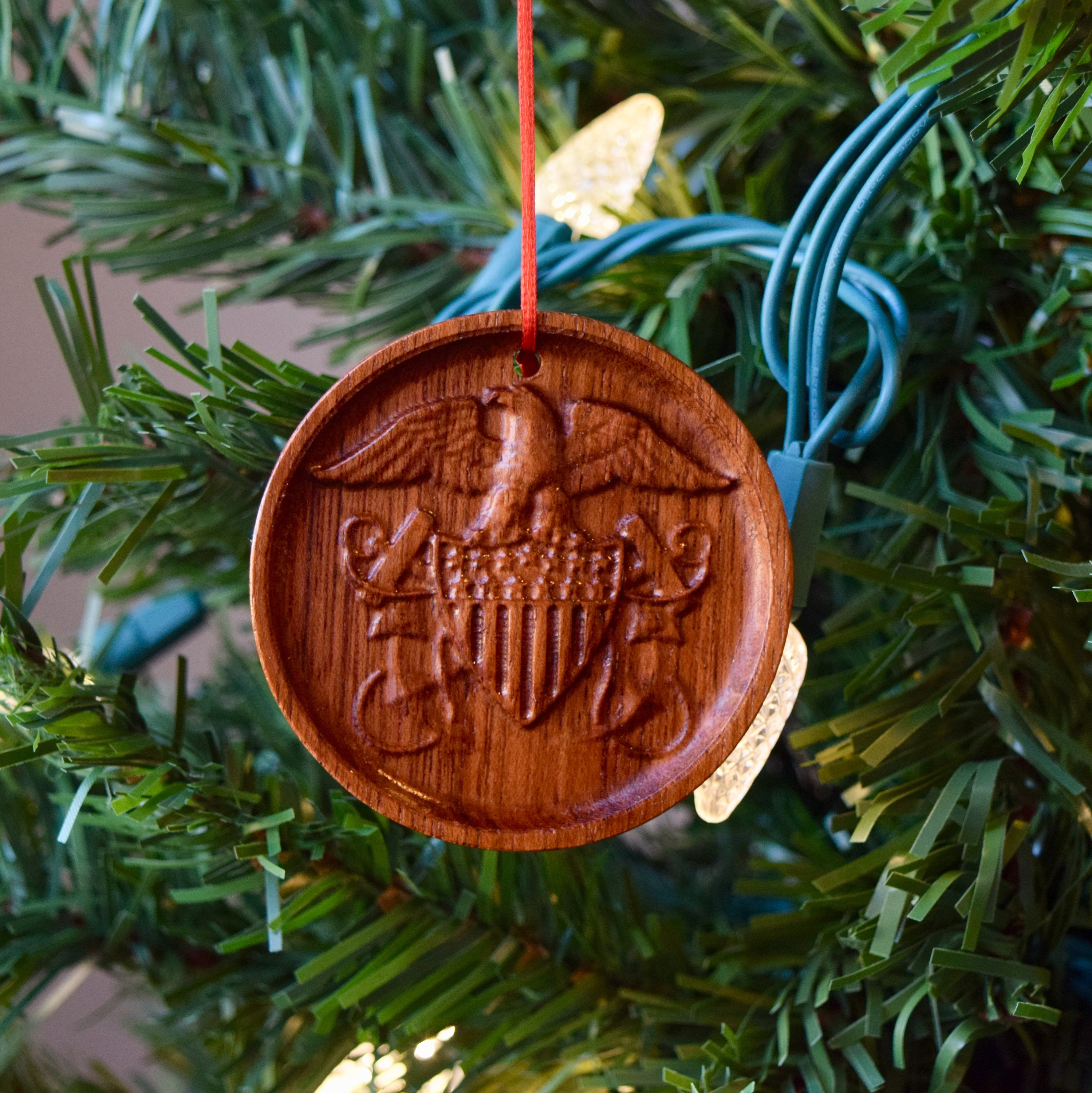 Naval Christmas Ornaments.Navy Officer Crest Ornament Naval Officer Ornament